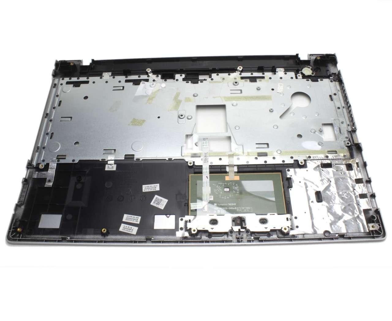 Palmrest Lenovo AP0TH000310 Argintiu cu touchpad imagine powerlaptop.ro 2021