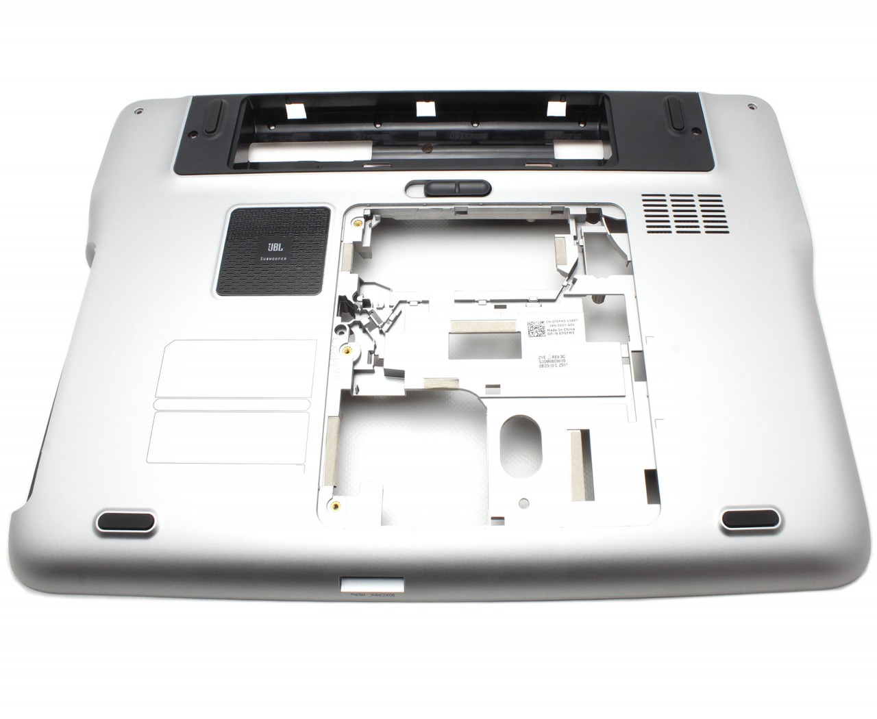Bottom Case Dell FKFXX Carcasa Inferioara Argintie imagine powerlaptop.ro 2021