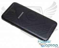 Capac Baterie Samsung Galaxy J7 2017 J730F Negru Black. Capac Spate Samsung Galaxy J7 2017 J730F Negru Black