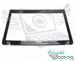 Bezel Front Cover Toshiba  AP0OT000B00. Rama Display Toshiba  AP0OT000B00 Neagra