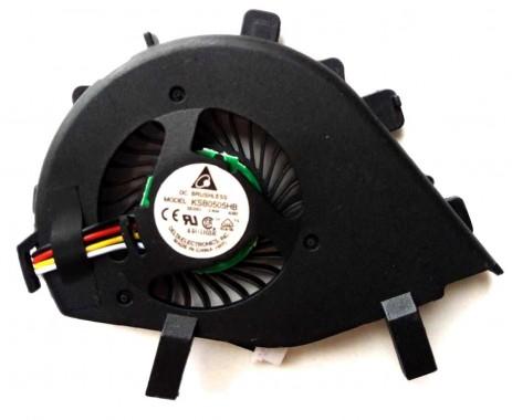 Cooler laptop Sony Vaio VPC-Z. Ventilator procesor Sony Vaio VPC-Z. Sistem racire laptop Sony Vaio VPC-Z