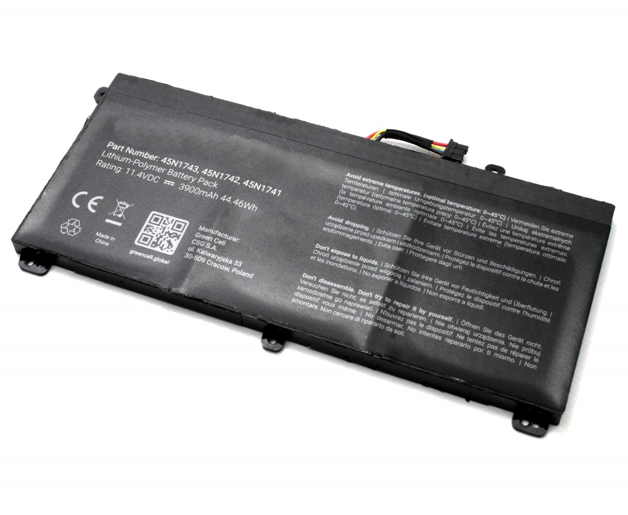 Baterie Lenovo 3ICP7 62 66 3900mAh imagine powerlaptop.ro 2021