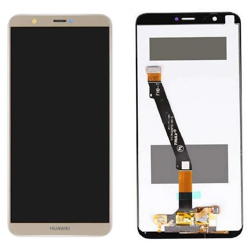 Display Huawei P Smart 2018 Gold Auriu imagine powerlaptop.ro 2021