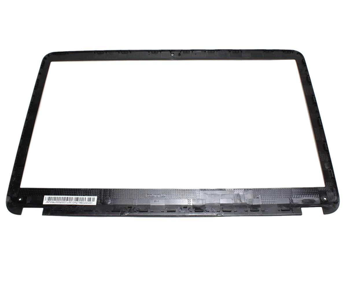 Rama Display HP 686591 001 Bezel Front Cover Neagra imagine powerlaptop.ro 2021