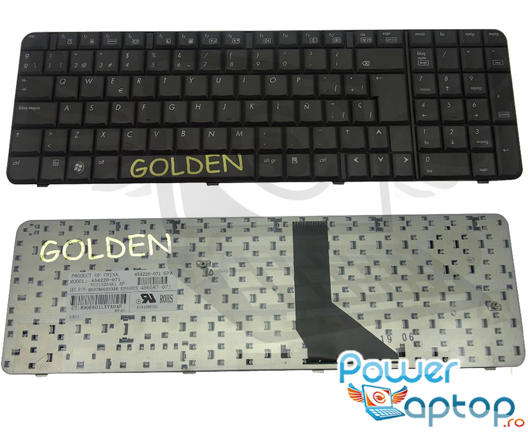 Tastatura HP 454220 071 imagine powerlaptop.ro 2021