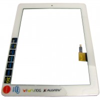 Digitizer Touchscreen Allview Viva i10G cu Rama Swap Original. Geam Sticla Tableta Allview Viva i10G cu Rama Swap Original