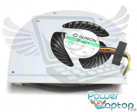 Cooler laptop Dell  MF60120V1-C370-G9A Mufa 4 pini. Ventilator procesor Dell  MF60120V1-C370-G9A. Sistem racire laptop Dell  MF60120V1-C370-G9A