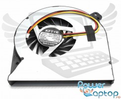 Cooler laptop Asus  K55DE. Ventilator procesor Asus  K55DE. Sistem racire laptop Asus  K55DE