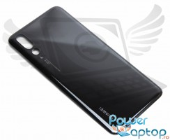 Capac Baterie Huawei P20 Pro Negru Black. Capac Spate Huawei P20 Pro Negru Black